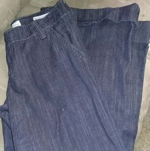 Wide leg Blue jeans